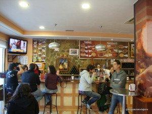 Interior Bar El Churrasco, Calle Van Dyck Salamanca