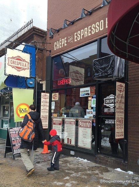Exterior de Crespella Brooklyn, Nueva York