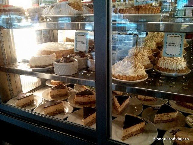 Desserts from Veselka, East Village