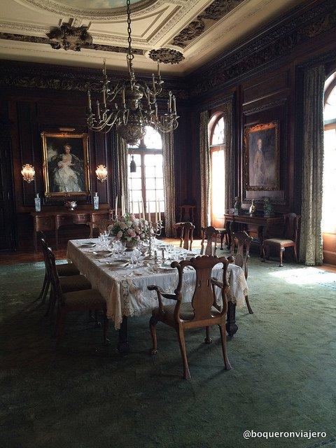 Interior de la casa de Old Westbury Gardens