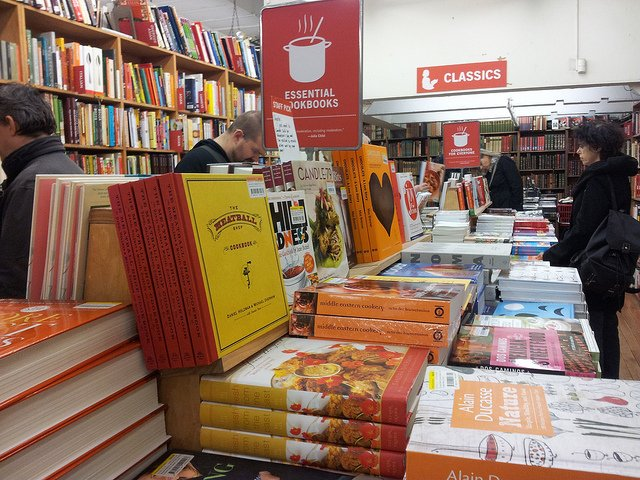 Libros en The Strand Bookstore Nueva York