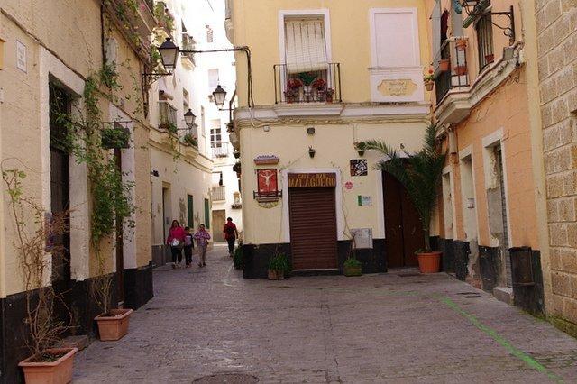 Barrio del Populo, entre los rincones que ver en Cadiz