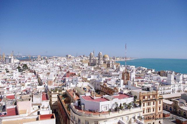 Cádiz desde Torre Tavira