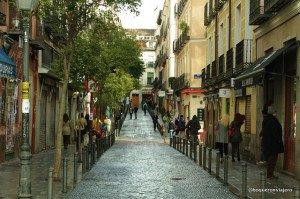 Calles de Malasaña, Madrid