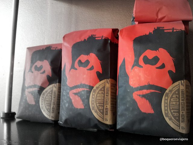 Logo of Gorilla Coffee, Park Slope