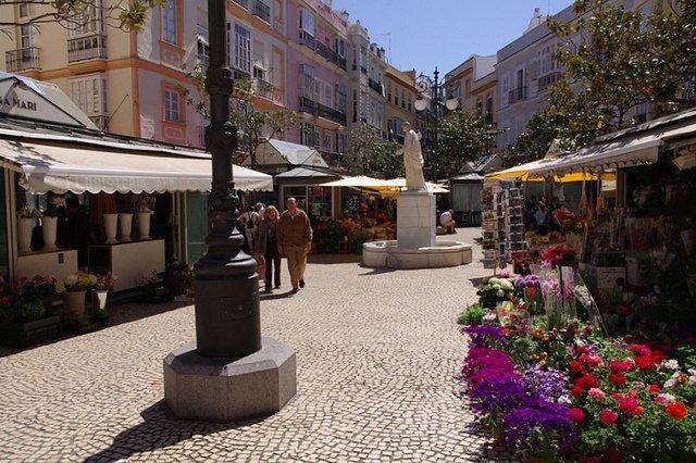 Plaza de las Flores, Cadiz