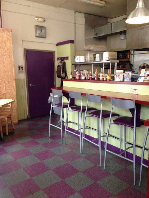 Dinning Room at Betty's Restaurant in Kutztown