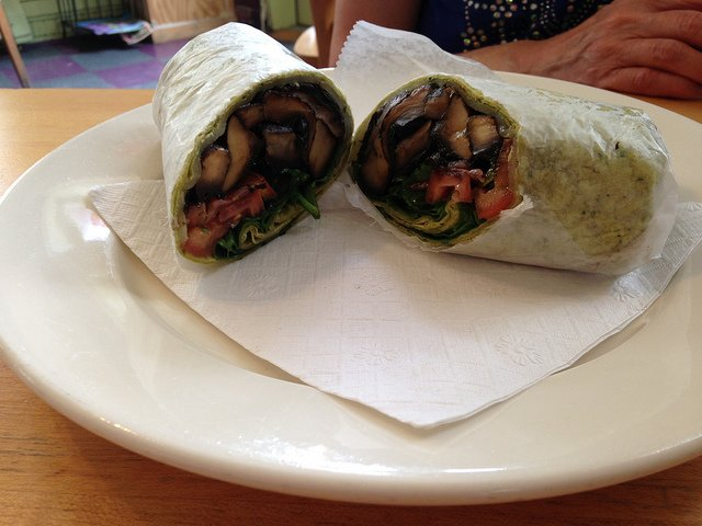 Wraps del Restaurante Betty's