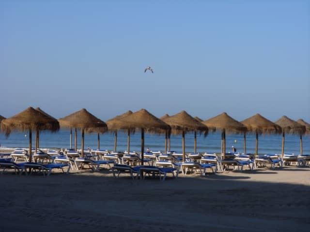 Playa Victoria en Cádiz