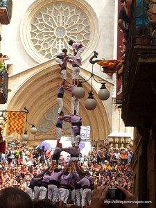 Castells of Tarragona, Spain