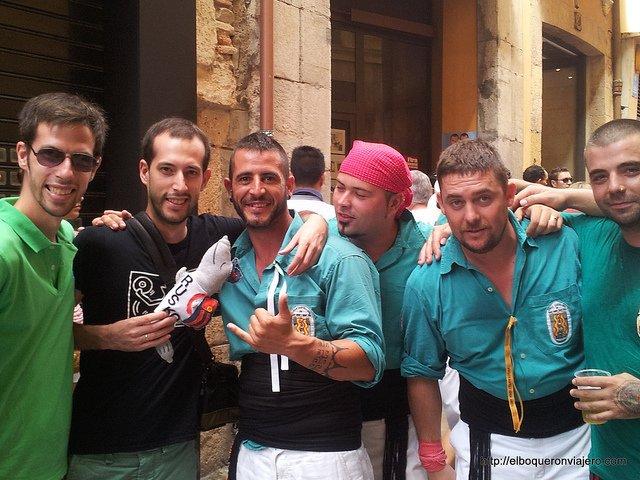 Pedro, Rusko and Javi in Tarragona