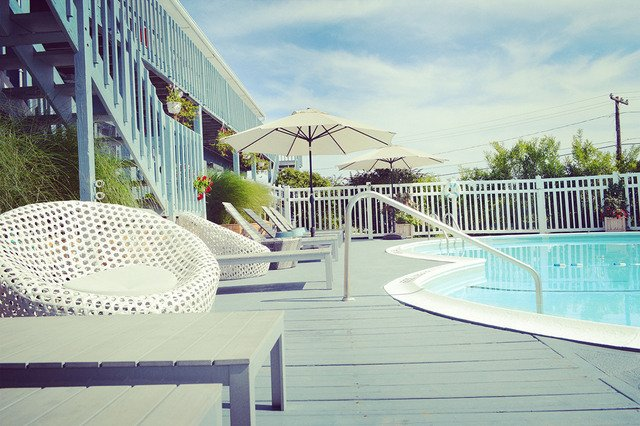 Pool in Haven Montauk