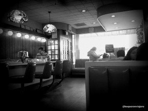 Interior of Jahn's Diner, Jackson Heights