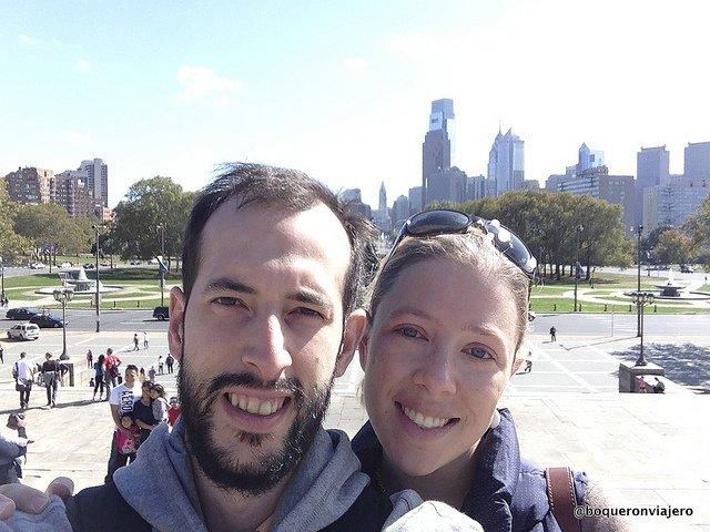 Abby y Pedro en Filadelfia
