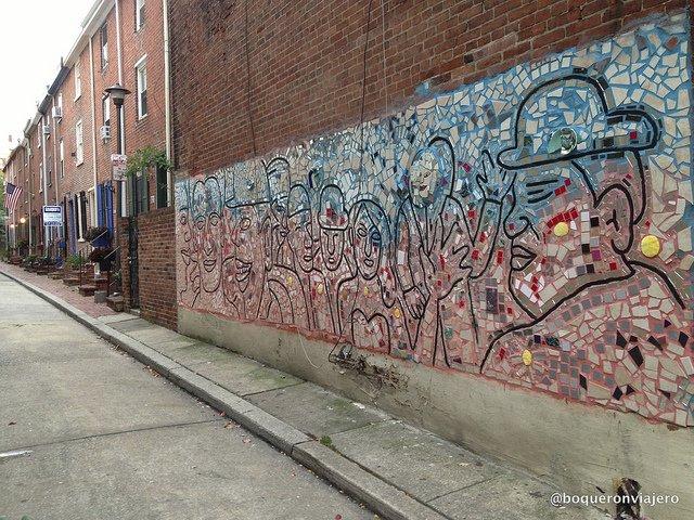 Arte en las calles de Filadelfia