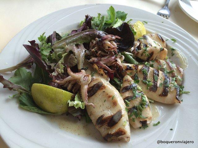 Calamari at Bella Via Restaurant, Long Island City