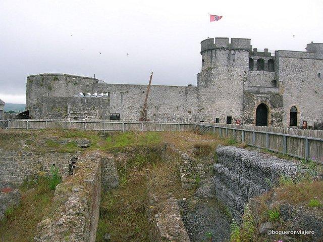 Castillo de St John en Limerick