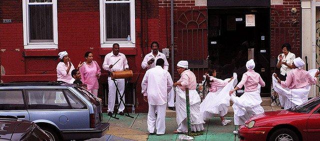 Barrio Centro de Oro en Filadelfia