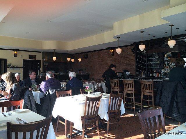 Dining Room at Bella Via Restaurant, Long Island City