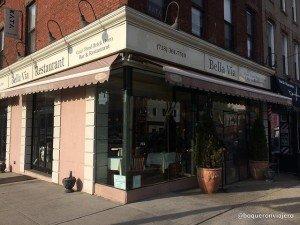Exterior Bella Via Restaurant, Long Island City