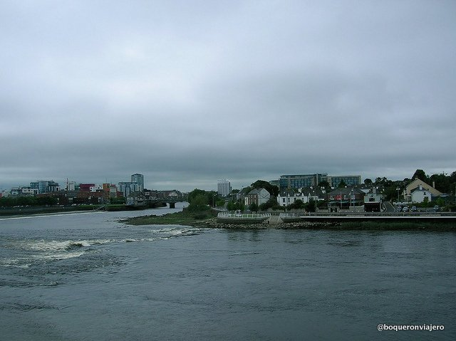 Río Shanon en Limerick