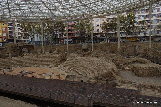 Roman Theater of Caesaraugusta, Zaragoza