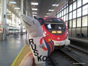 Viaje en tren hasta las Bodegas Tío Pepe