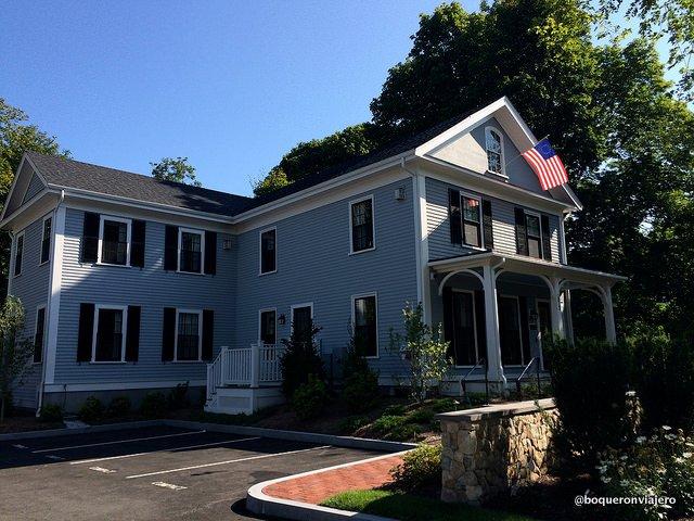 Edificio casa Isaac Mullikan de Inn at Hastings Park Lexington