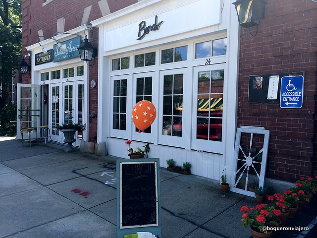 Exterior de Restaurante Bondir Concord