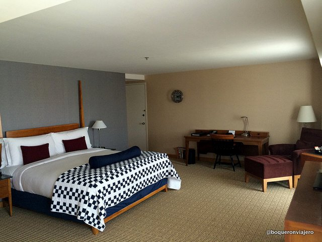 Room in the Charles Hotel, Cambridge MA