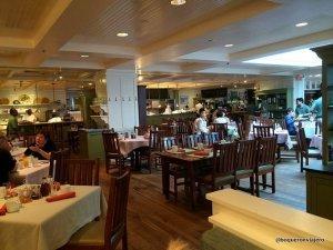 Henrietta's Table in the Charles Hotel, Cambridge MA