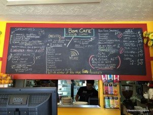 Menú de Bom Café, Somerville MA