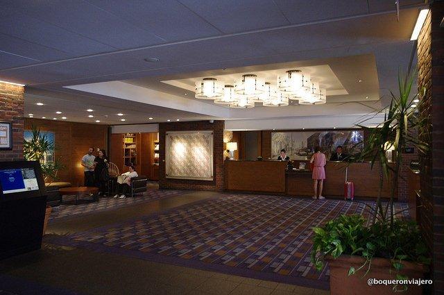 Recepción dCharles Hotel, Cambridge MA