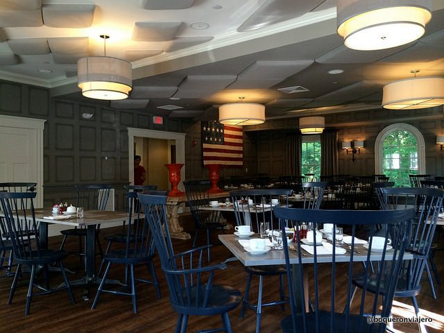 Restaurant Artistry on the Green at Inn at Hastings Park. Lexington