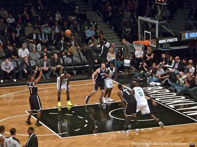Boston Celtics jugando