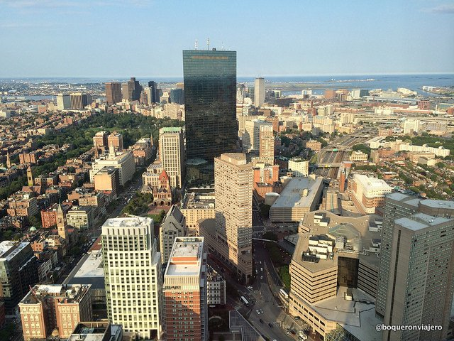 Boston from the Prudential Tower