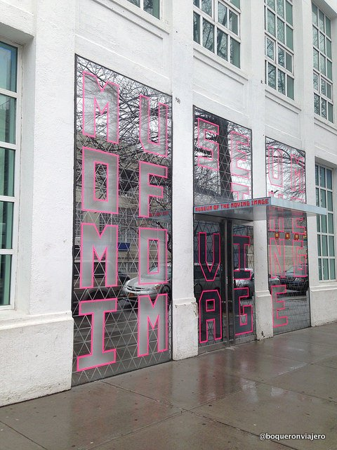 Entrance to the Museum of the Moving Image in Queens