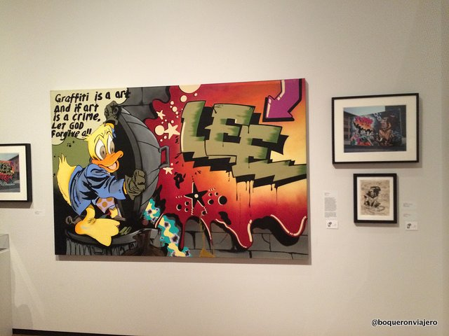 Exhibition about graffiti in The Museum of the City of NY