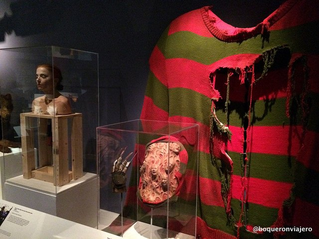 Freddy Frugger at the Museum of the Moving Image in Queens