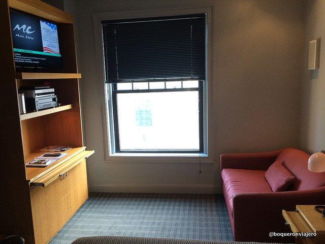 A room in The Charlesmark Hotel, Boston