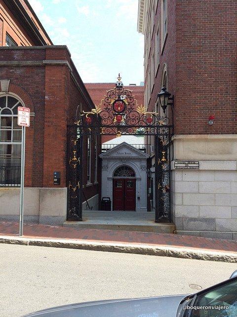Entrance to the Harvard Campus, Cambridge MA