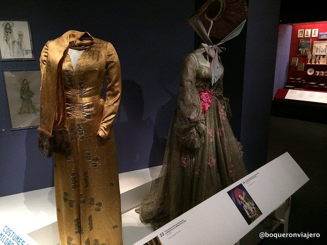 Movie and Television costumes at the Museum of the Moving Image in Queens