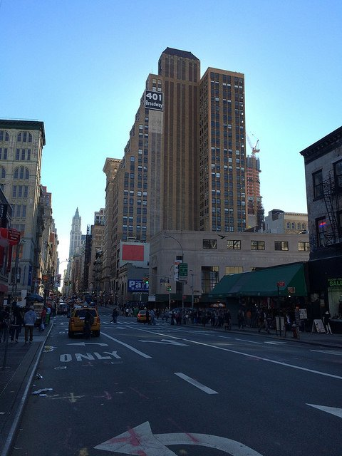 Streets in SoHo New York
