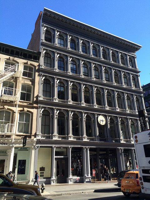 E.V. Haughwout Building in SoHo New York