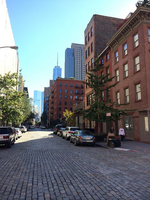 Empire State from SoHo New York