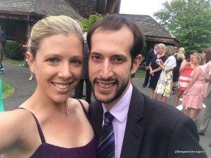 En Connecticut para la boda