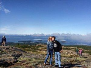 Pedro y Abby en Maine