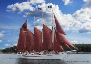 The Margaret Todd Windjammer, Maine