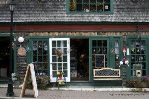 Tiendas en Bar Harbor, Maine