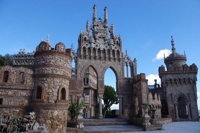 Castillo de Colomares, Benalmádena, Málaga